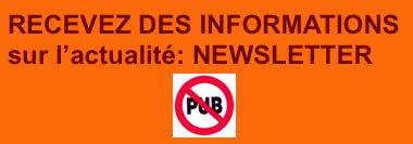 Recevoir des informations d'actualité: Newsletter